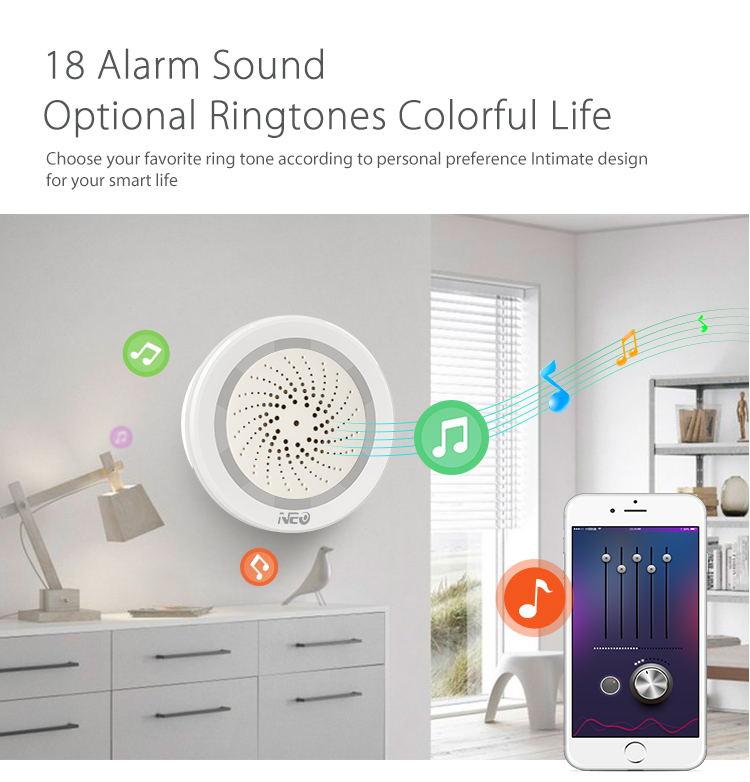 neo alarm sensor with temperature function 2019