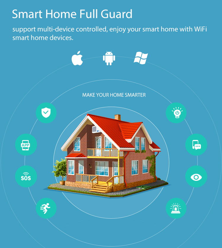 new neo wifi siren alarm sensor smart alarm