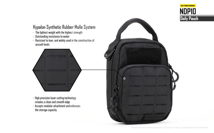 buy nitecore ndp10 short trips daily pouch