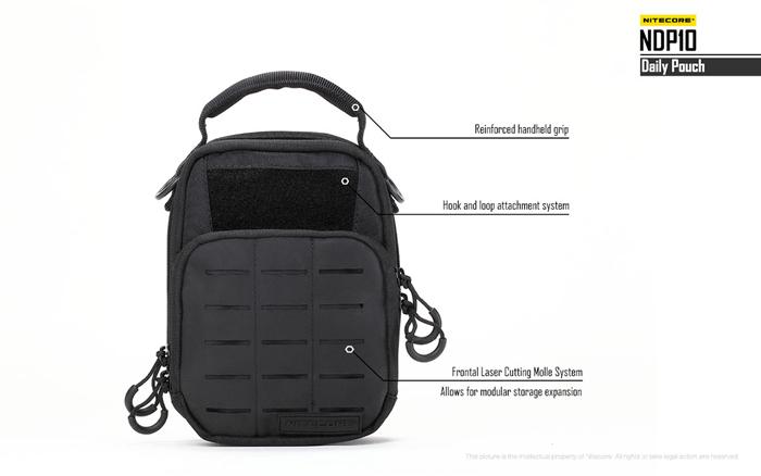 new nitecore ndp10 short trips daily pouch