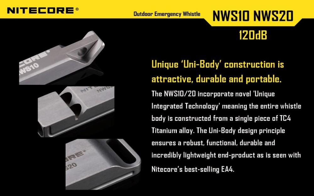 nitecore nws10 survival emergency whistle
