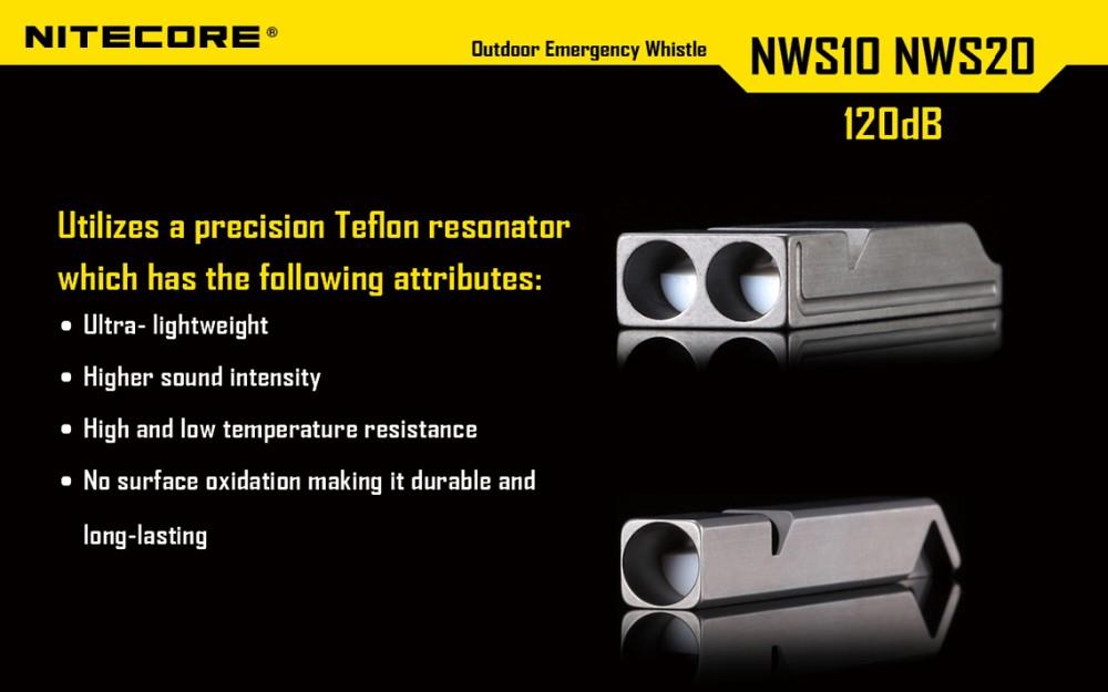 nitecore nws10 emergency whistle price