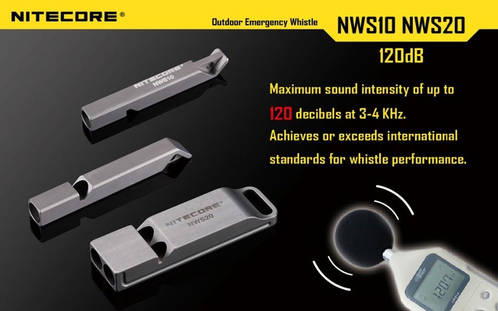 best nitecore nws10 emergency whistle