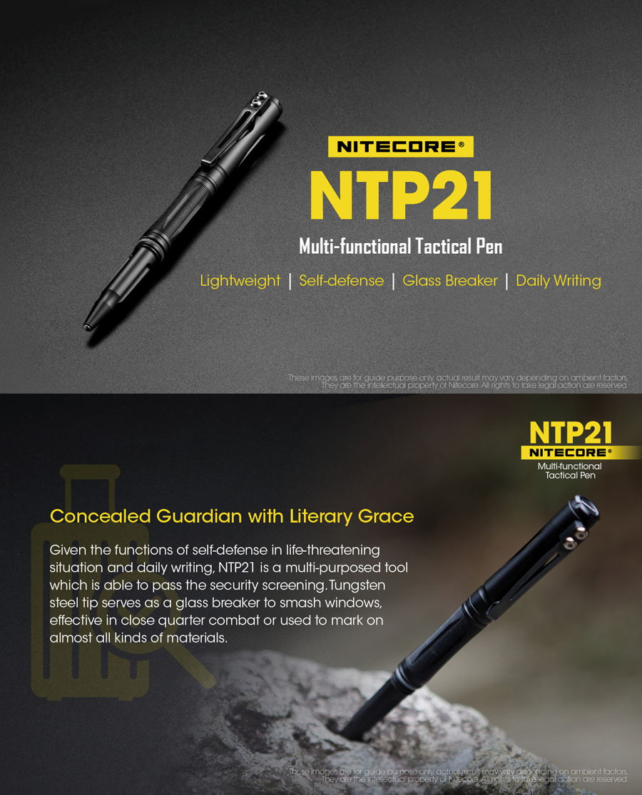 nitecore ntp21 aluminum alloy multifunctional pen