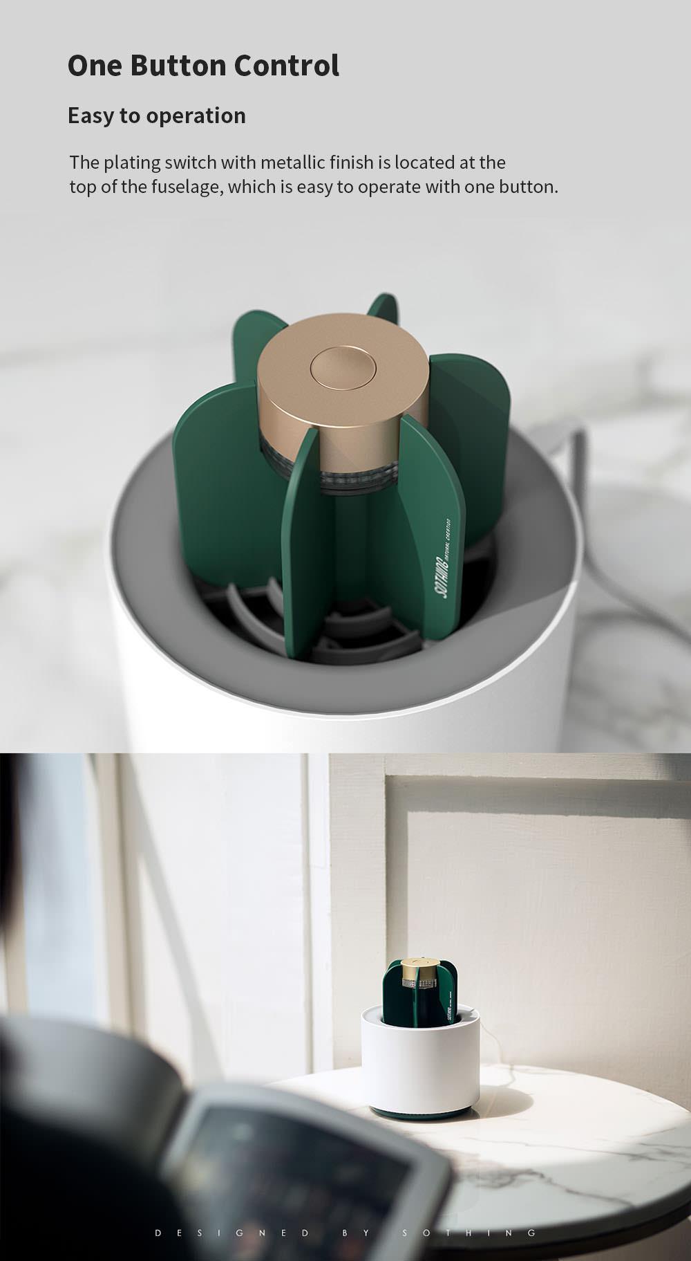 new original xiaomi sothing cactus mosquito killer lamp