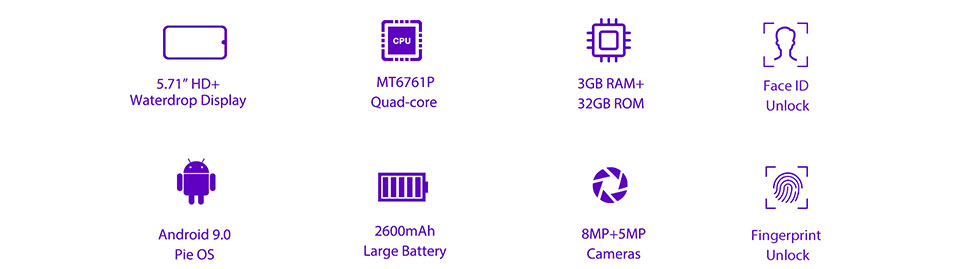 buy oukitel c16 pro 4g smartphone