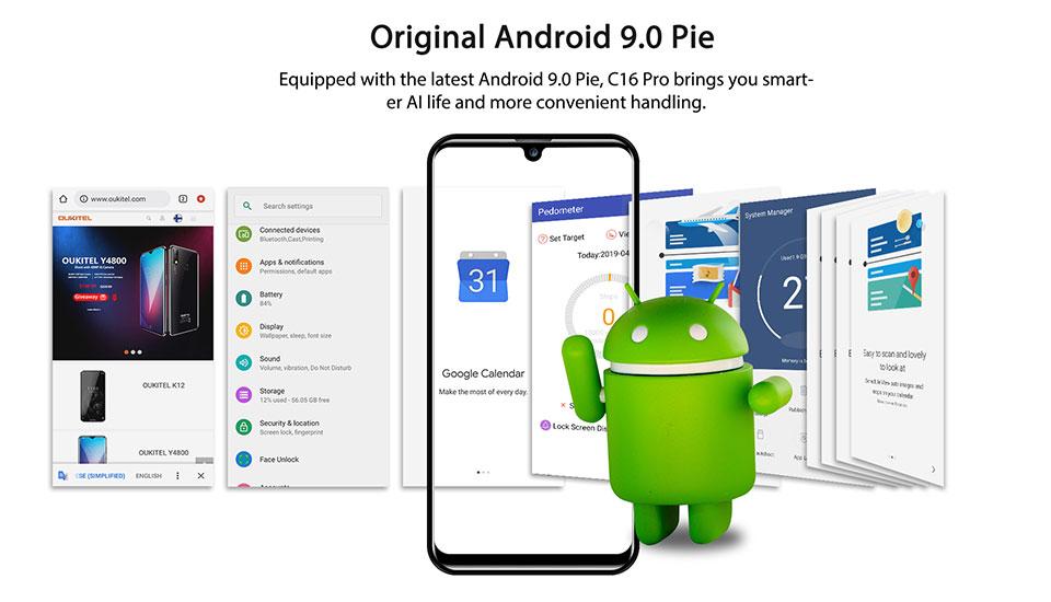 buy oukitel c16 pro smartphone