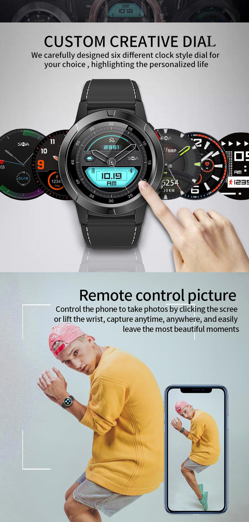 sma-m4 smartwatch for sale