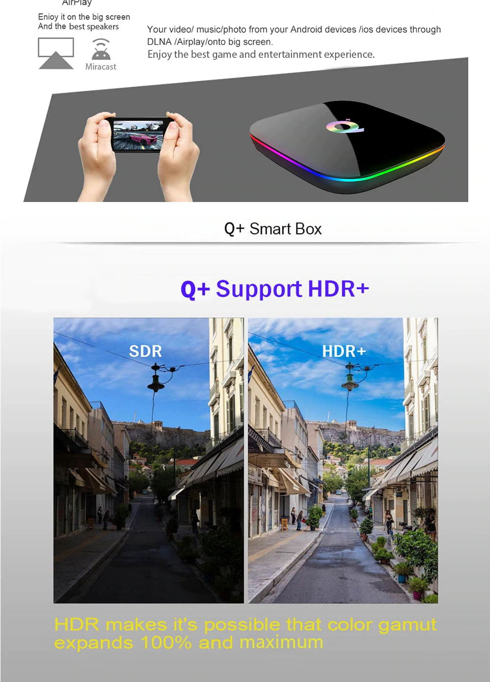 new sunvell q plus allwinner h6 tv box