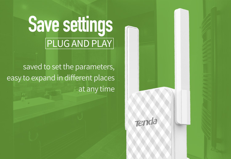 buy tenda a9 wireless range extender
