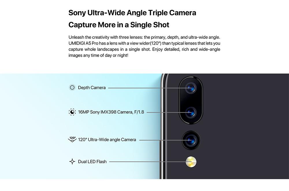 2019 umidigi a5 pro 4g smartphone
