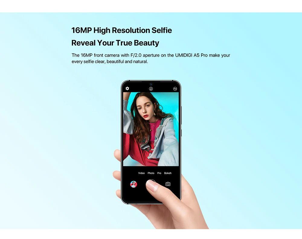 global umidigi a5 pro 4g smartphone for sale