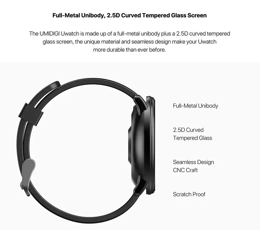 new umidigi uwatch smartwatch