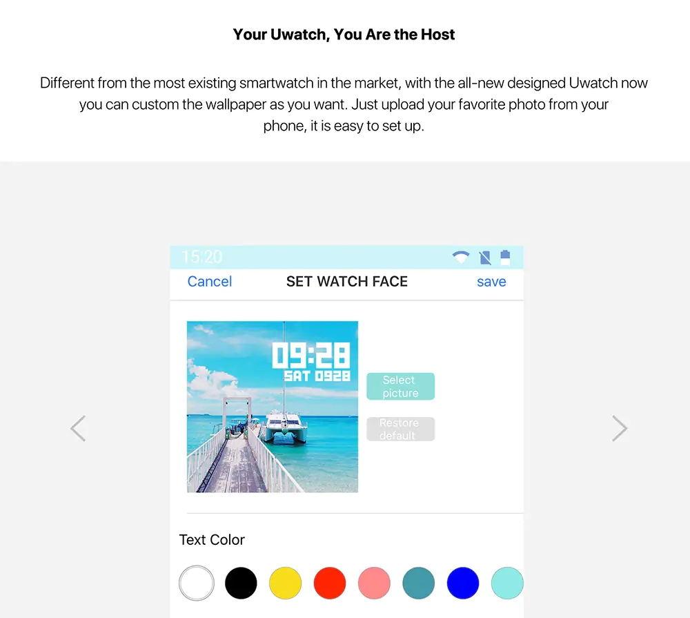 umidigi uwatch smartwatch online