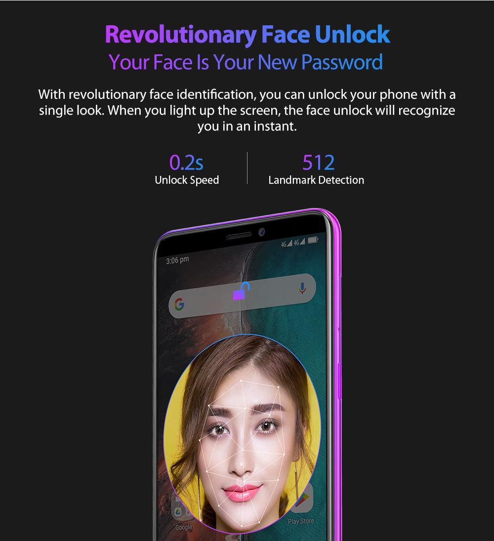 2019 ulefone p6000 plus smartphone