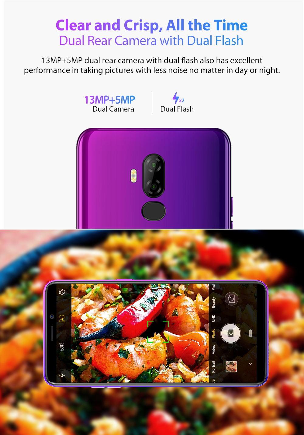 new ulefone p6000 plus smartphone