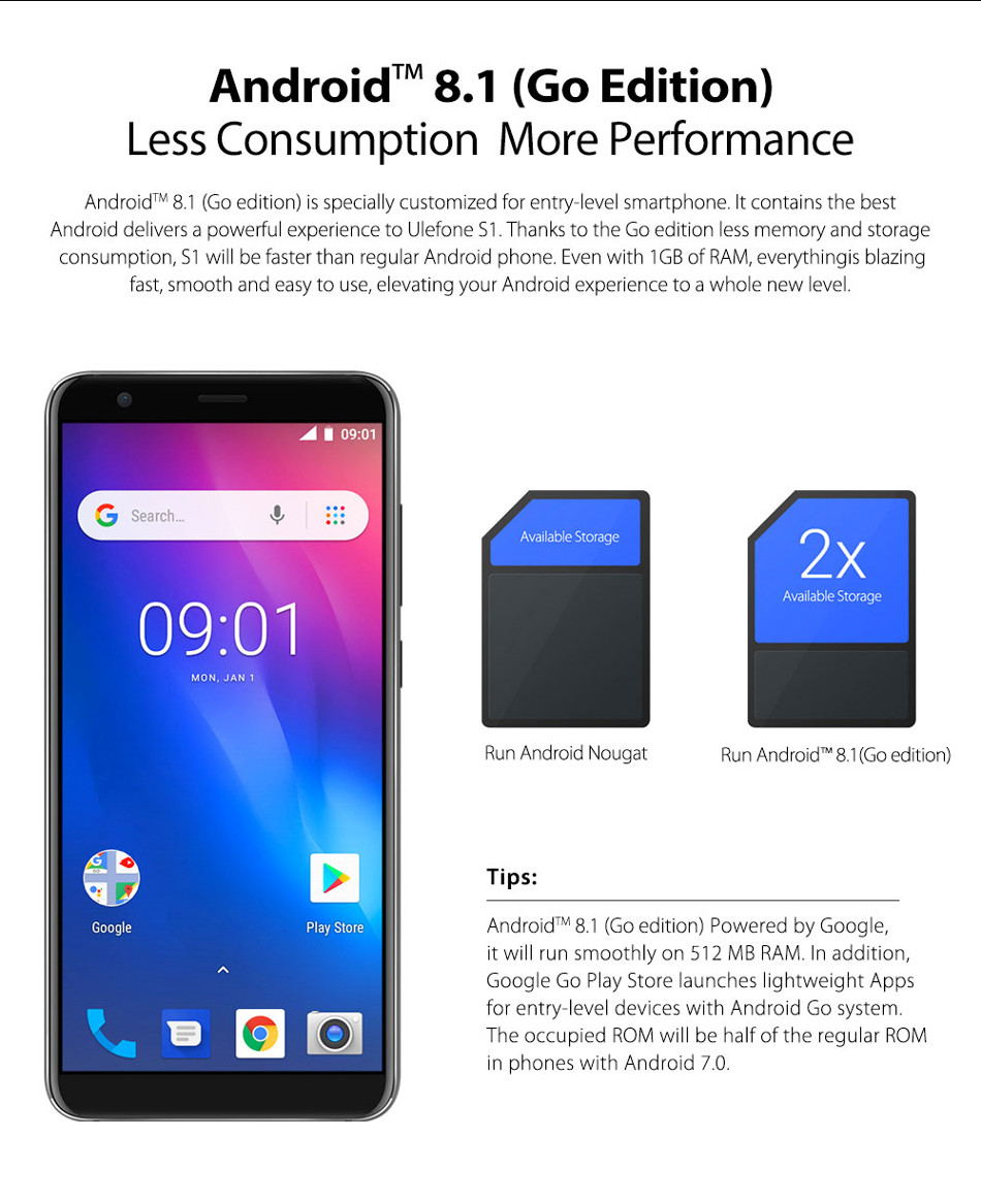 new ulefone s1 smartphone global version