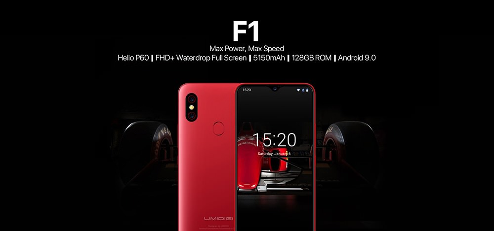 umidigi f1 smartphone global version