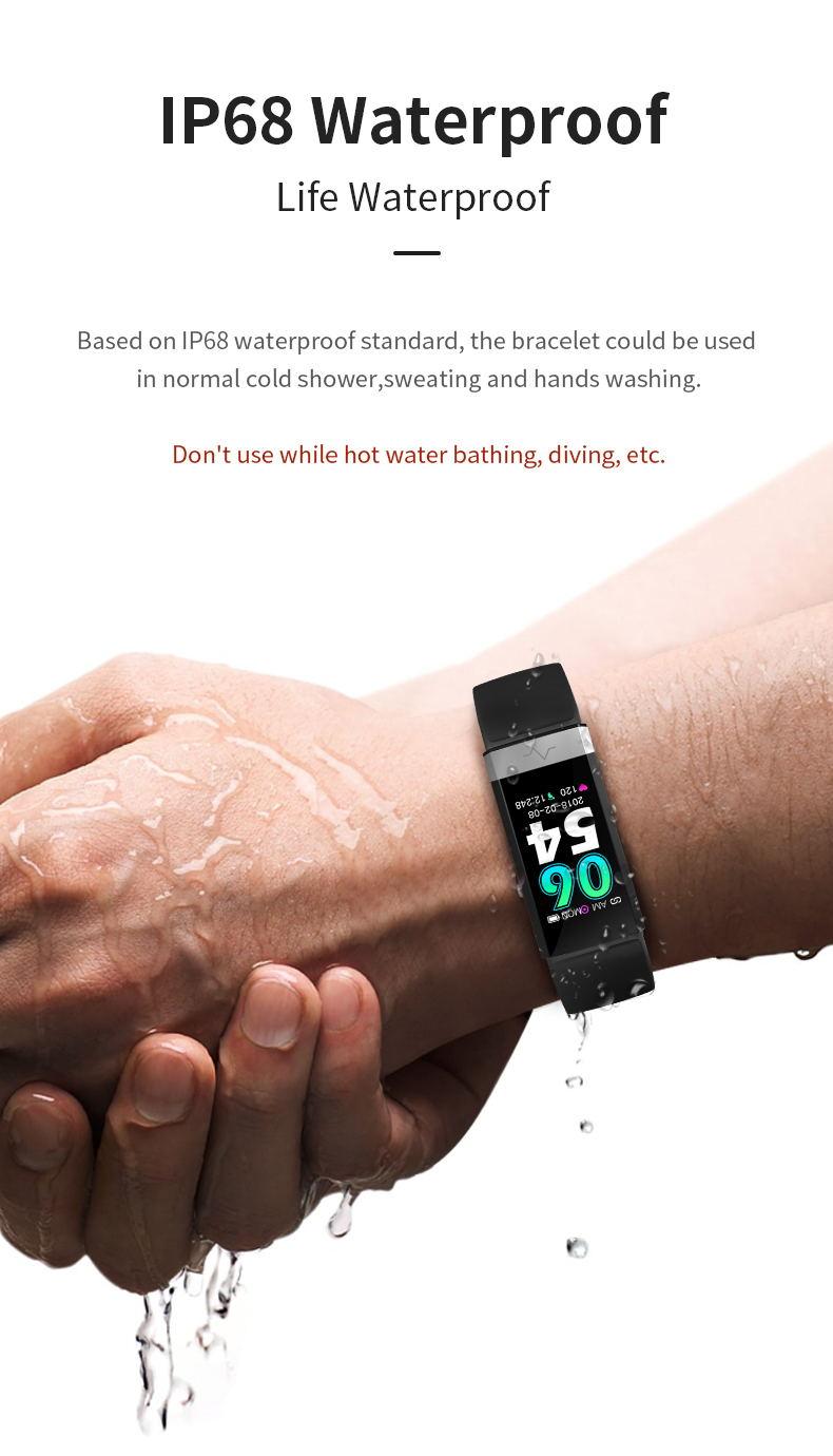 new v19 waterproof samrtwatch