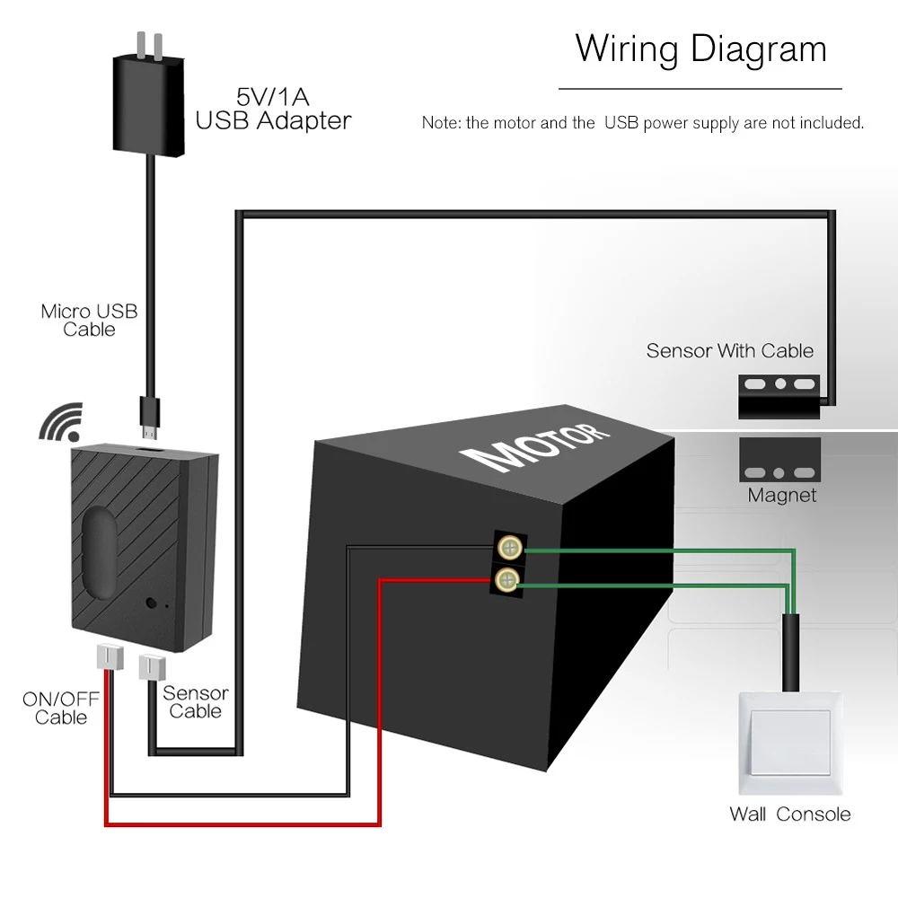 wifi smart switch garage door controller