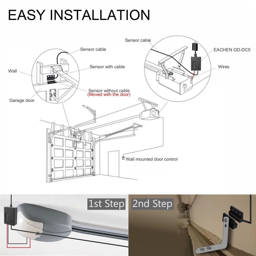 buy wifi switch garage door controller