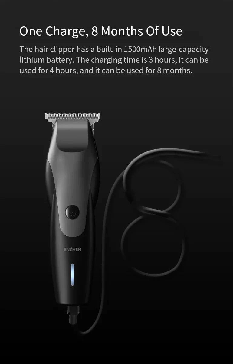 buy xiaomi enchen electric hair clipper