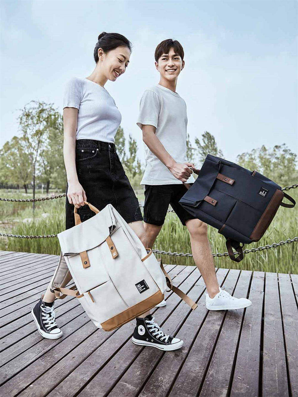 xiaomi 90fun leisure college bag for sale