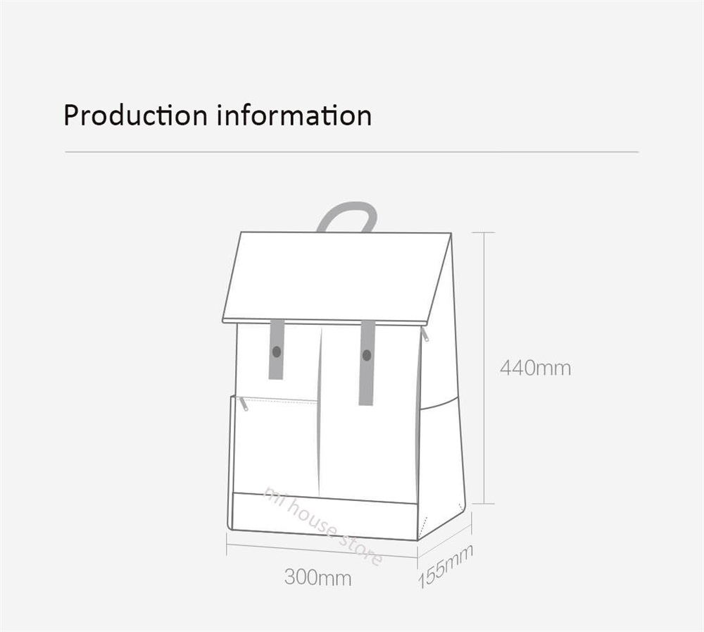 xiaomi 90fun college backpack