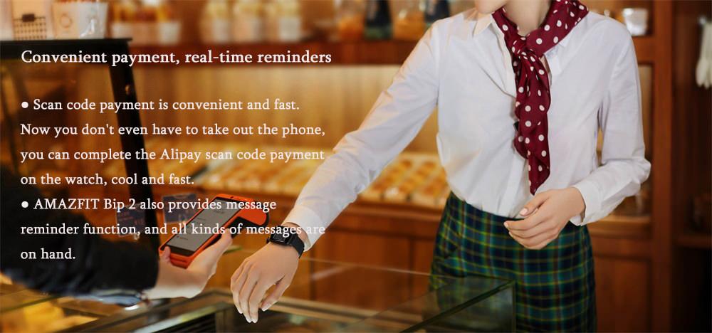 amazfit bip 2 bluetooth smartwatch