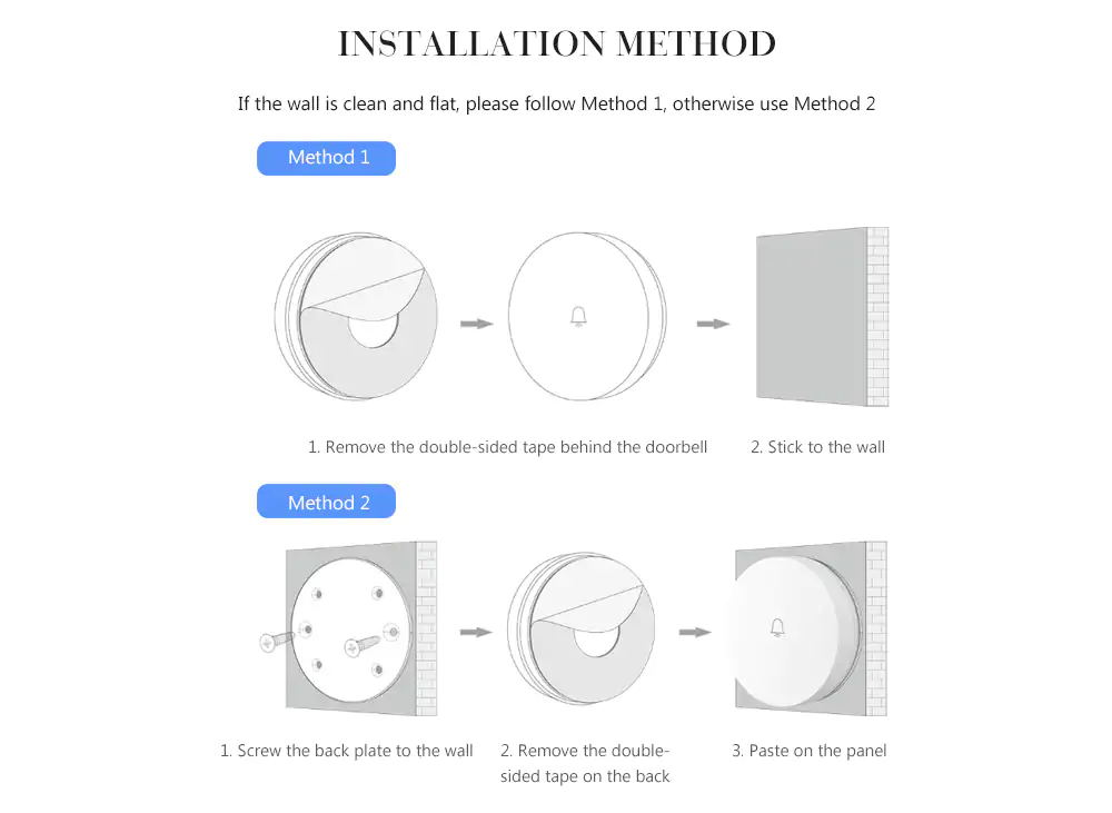 xiaomi home smart wireless doorbell price