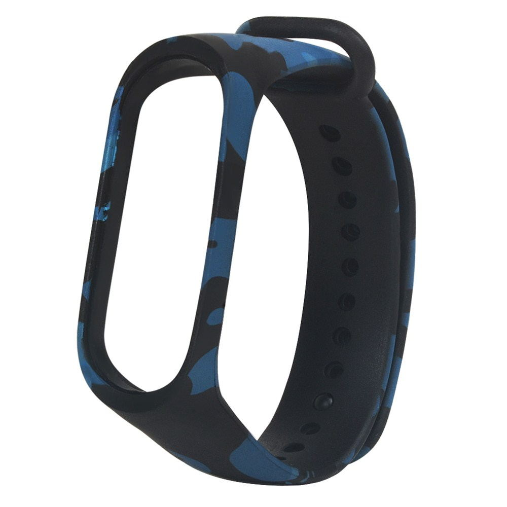 mi band 4 camouflage replacement watchband