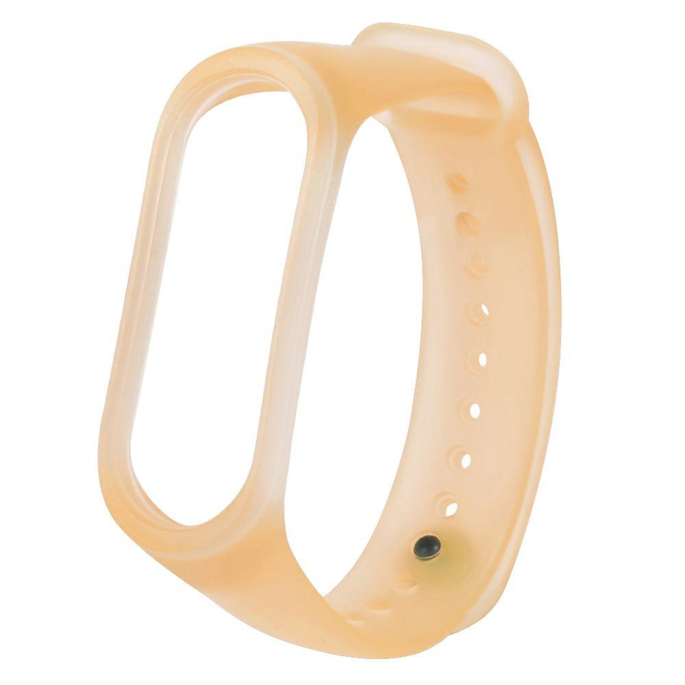 xiaomi mi band 4 translucent replacement watchband