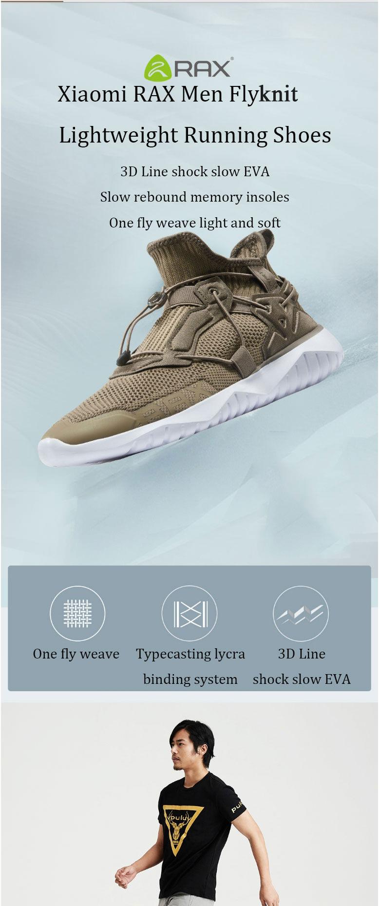 xiaomi rax men running shoes