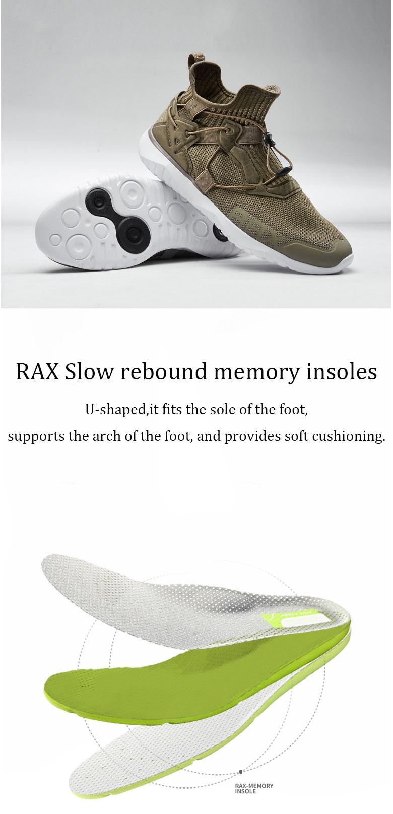 new xiaomi rax men running shoes