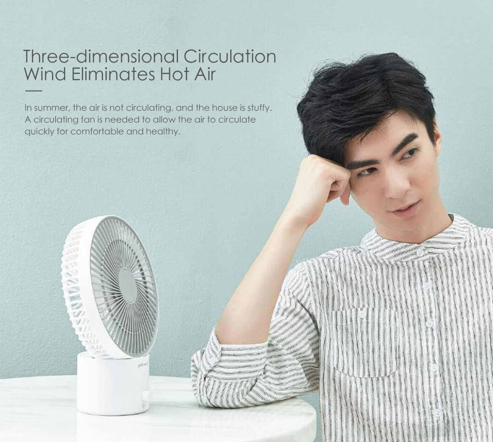 xiaomi smartfrog air circulation fan