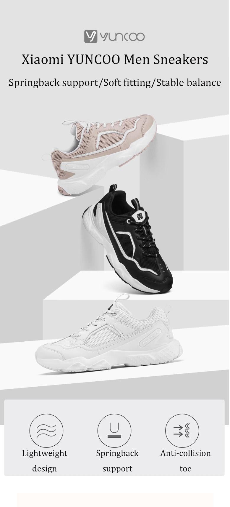 xiaomi yuncoo fashion walking shoes