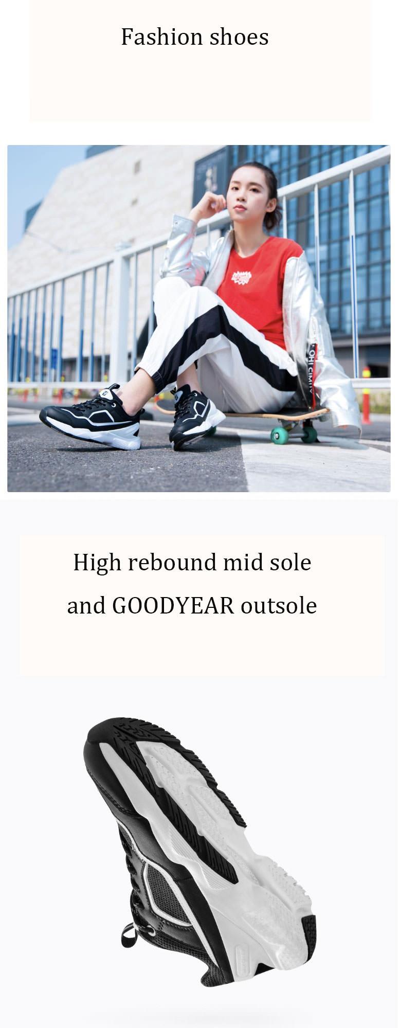 buy xiaomi yuncoo fashion walking shoes