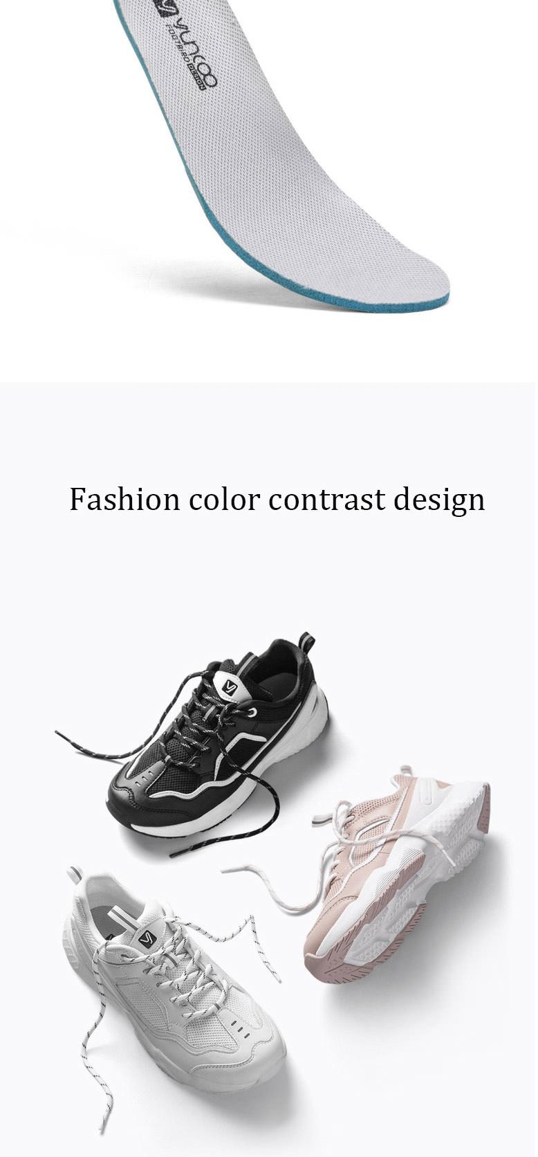 2019 xiaomi yuncoo fashion walking shoes