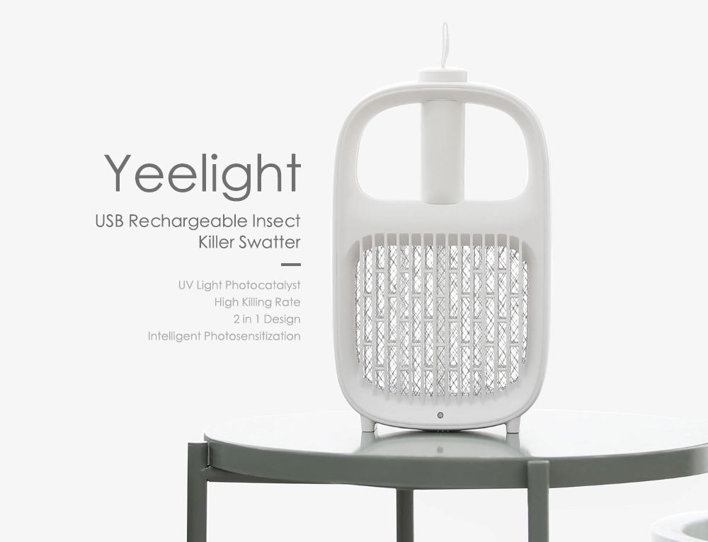 xiaomi yeelight rechargeable insect killer swatter