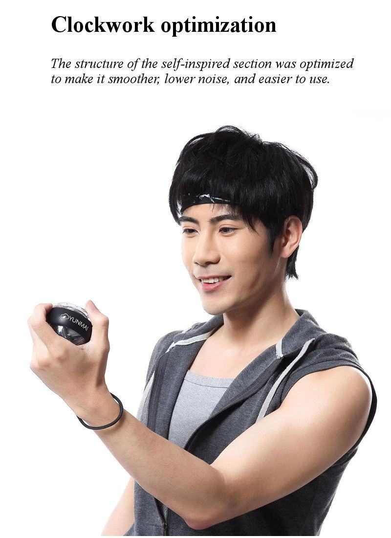 xiaomi mijia yunmai wrist trainer led gyroball