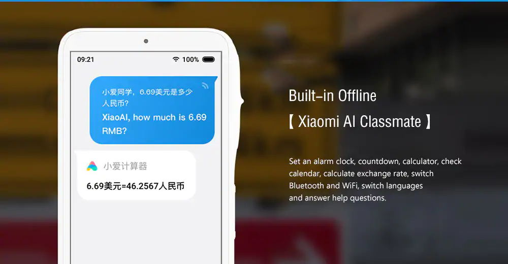 xiaomi xiaoai f6m1aa 4g wifi teacher learning machine