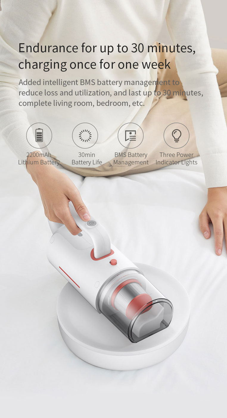 xiaomi youpin deerma cm1910 household cordless vacuum cleaner gearvita. Black Bedroom Furniture Sets. Home Design Ideas