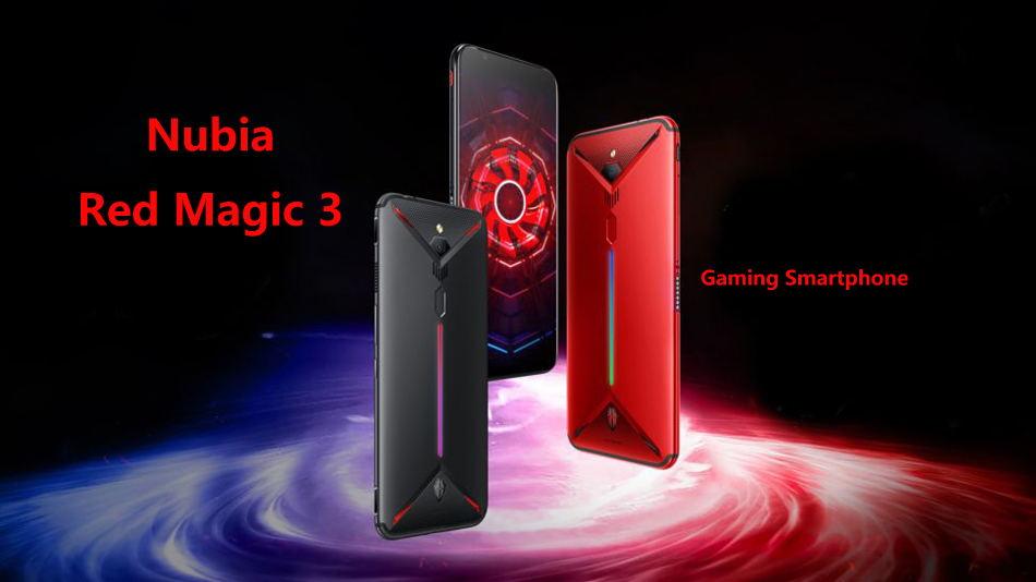 zte nubia kırmızı büyü 3 smartphone