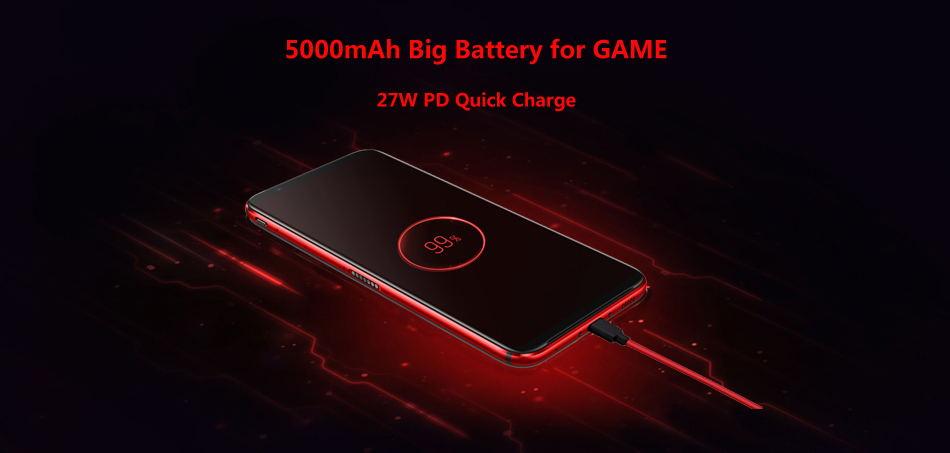2019 zte nubia red magic 3 smartphone