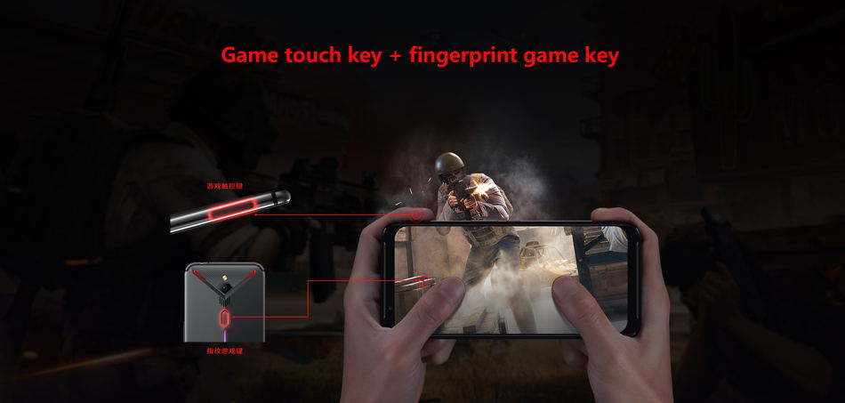 zte nubia red magic 3 4g smartphone