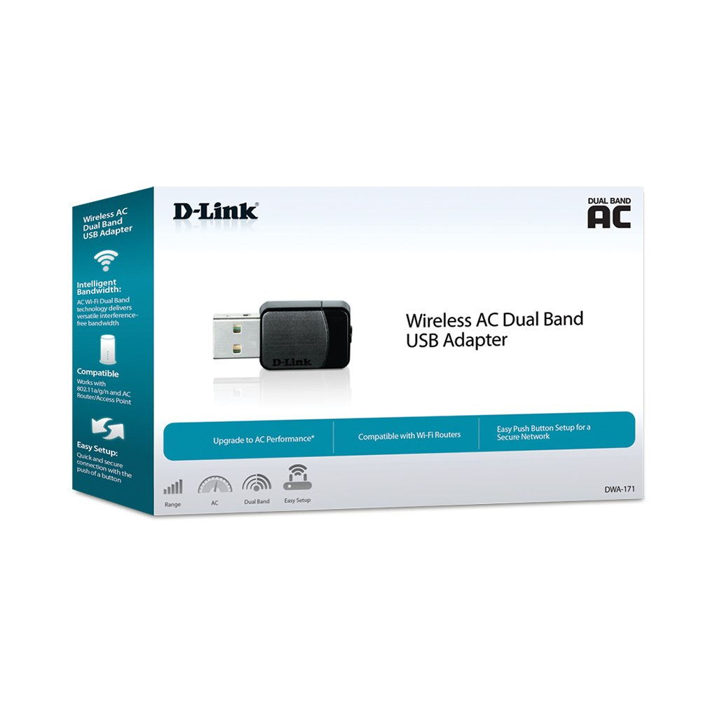 d-link dwa-171 ac600 usb adapter for sale
