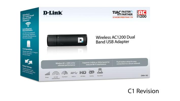 d-link dwa-182 ac1200 usb adapter 2019