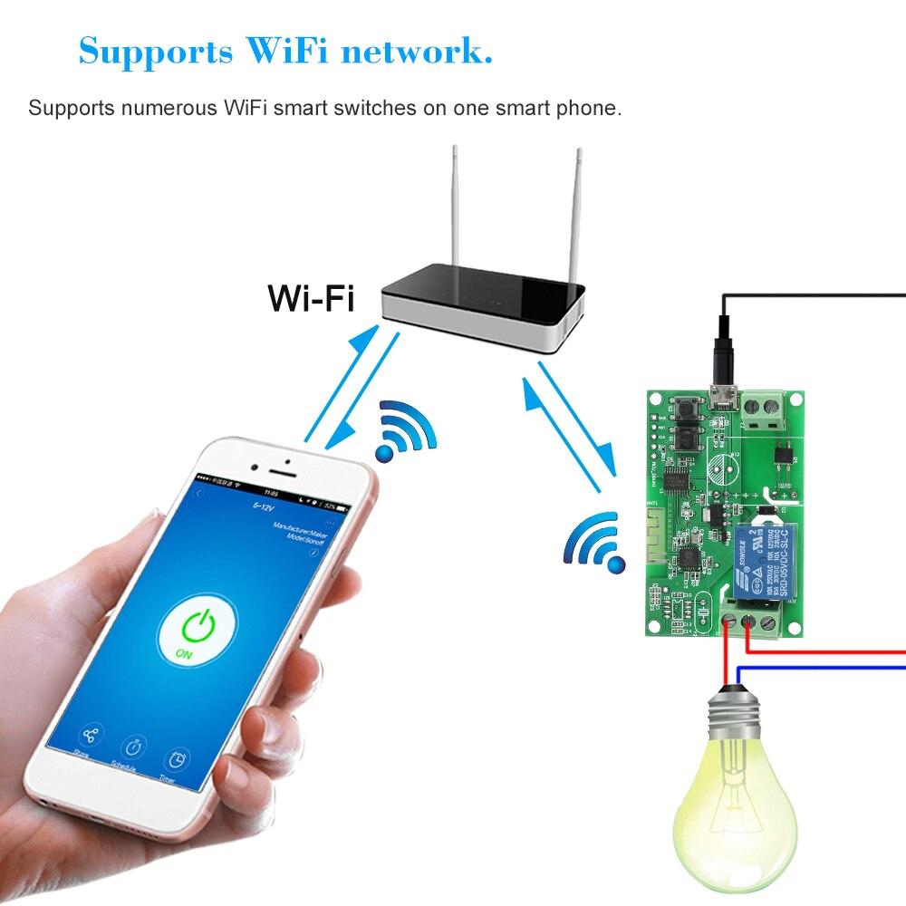 eweLink dc5v / usb5v wifi switch module
