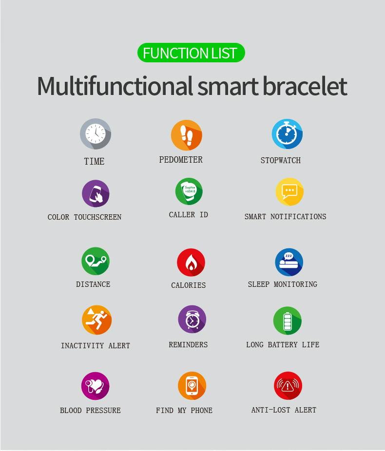 new f8 smart watch