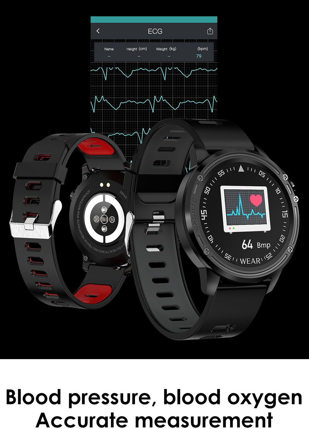 buy microwear l8 smart watch ip68